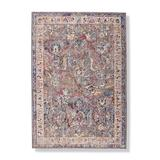 """Gaia Easy Care Area Rug - Grey/Ivory, 2'3"""" x 8' - Frontgate"""