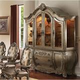 Astoria Grand Rosenfeld China Cabinet Wood/Glass in Brown, Size 94.0 H x 72.0 W x 23.0 D in | Wayfair BAEFD97C81A340CDBC28A5CB02DFF746