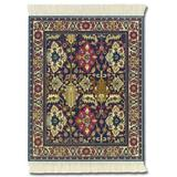 Lextra Kuba Oriental MouseRug, 10.25 x 7.125 Inches, Blue, Rust and Cream, One (MWR-1)