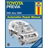 Toyota Previa (91-95) Automotive Repair Manual (Haynes Automotive Repair Manuals) by Robert Maddox (6-Nov-1995) Paperback