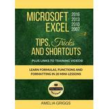 Microsoft Excel 2016 2013 2010 2007 Tips Tricks and Shortcuts (Color Version): Learn Formulas, Functions and Formatting in 20 Mini-Lessons (Easy Learning Microsoft Office How-To Books) (Volume 2)