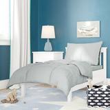 Zoomie Kids Hetherington Solid 4 Piece Toddler Bedding Set 100% Cotton in Gray | Wayfair 6AF1429FC0DE4DDEBBBBC8AA728FD2C3