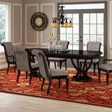 Lark Manor™ Eakes 7 Piece Dining Set Wood/Upholstered Chairs in Brown/Gray, Size 31.0 H in | Wayfair 1972D67105C44E77A62ABA1AFB6331DA