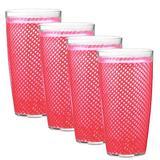 Highland Dunes Agnese 22 oz. Acrylic Double Wall Glass Plastic in Pink, Size 7.0 H x 8.0 W in | Wayfair 81E7DA4E07F14A76A58F8BEBFD3DEB19