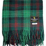 "I LUV LTD Scottish Tartan Warm Wool Mix Throw Blanket Ross Modern Plaid Couch Blanket Bed Throw Blankets Wool Rug Outdoor Blankets and Throws 60"" x 72"""