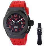 Swiss Legend 10542A-BB-01-RDAS Trimix Diver Analog Display Swiss Automatic Black/Red Watch