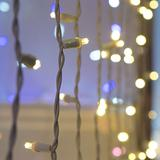 Warm White Craft Lights, LED String Lights Curtain Lights for Crafting – Warm LED Curtain Lights, Small Craft LED Lights, White Wire (35 Lights, 11.8 Ft, Warm White)