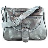 Purse King Pistol Concealed Carry Handbag (Gunmetal)