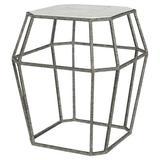 ellahome Paris Frame End Table in Gray/Blue/Black, Size 26.0 H x 24.0 W x 24.0 D in | Wayfair IT38_CC_DO