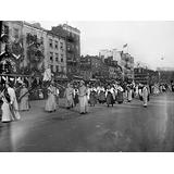Suffrage Parade 1913 Nmarchers Carrying A Banner That Says Sweden At The WomenS Suffrage Parade Held In Washington DC 3 March 1913 Poster Print by (24 x 36)