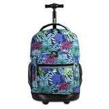 J World New York Sunrise Rolling Backpack Backpack, SAVANNA
