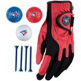 Toronto Blue Jays Golf Balls Tees & Glove Set