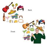 The Beistle Company 13 Piece Fiesta Photo Fun Sign Set, Size 11.5 H x 9.0 W x 0.313 D in   Wayfair 54789