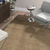 Ebern Designs Frann Hand Loomed Wool/CottonArea RugWool/Cotton in Brown, Size 72.0 H x 48.0 W x 0.63 D in | Wayfair
