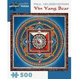 Paul Heussenstamm Yin Yang Bear 500 Piece Jigsaw Puzzle Aa932