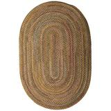 Colonial Mills Rustica Braided Rug, 7 by 9-Feet, Grecian Green