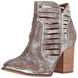 Ariat Women's Unbridled Adriana Western Boot, Metallic Suede, 5.5 B US