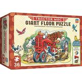 """MasterPieces Floor 36 Puzzle Puzzles Collection - Tractor Mac 36 Piece Jigsaw Puzzle, 24"""" x 36"""""""