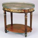 Astoria Grand Rochele Hand-Painted Coffee Table w/ Tray Top Wood in Brown, Size 29.0 H x 32.0 W x 24.0 D in   Wayfair