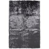 Mercer41 Kennon Hand-Tufted Cotton Slate Area Rug Polyester/Cotton in Gray, Size 120.0 H x 84.0 W x 1.57 D in | Wayfair