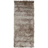Mercer41 Kennon Hand-Tufted Taupe Area Rug Polyester in Brown, Size 72.0 H x 30.0 W x 1.57 D in | Wayfair 4C7A30104D204F989A8626F6A7D1DD1A