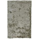 Mercer41 Kennon Hand-Tufted Silver Area Rug Polyester in Gray, Size 120.0 H x 84.0 W x 1.57 D in | Wayfair 026ECA4F6D7049C4A1F26BD162594379