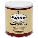 Whey To Go Protein Powder - Natural Chocolate Cocoa Bean Flavor, 41 oz, Solgar