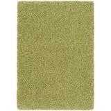 """Hyacinth Green Shag Area Rug 5'3"""" x 7'3"""