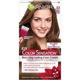 Garnier Hair Color Sensation Rich Long-Lasting Color Cream, 5.3 Medium Golden Brown