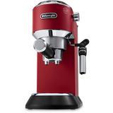 DeLonghi De'Longhi EC685M Dedica DeLuxe Pump Espresso Machine w/ Premium Adjustable Frothing Wand in Red, Size 12.0 H x 13.0 W x 6.0 D in   Wayfair