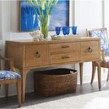 Barclay Butera Newport Buffet TableWood in Brown, Size 34.0 H x 62.0 W x 20.0 D in | Wayfair 01-0920-869
