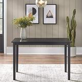 Target Marketing Systems Shaker Dining Table, Black