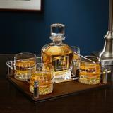 Darby Home Co Drew 6 Piece Whiskey Decanter Set Glass, Size 9.0 H x 12.0 W in | Wayfair B5A5678AAD6641688BBC461D56EC5D23