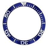 Bezel Insert Compatible with Invicta 9094 Pro Diver Automatic Watch Large Number Blue