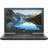 "Dell G5 Gaming Laptop 15.6"" Full HD 1920 x 1080 LED Display, 8th Gen 6 Core Intel i7-8750H Processor, 16GB Memory, 256GB SSD +1TB HDD, NVIDIA GeForce GTX 1050Ti, Licorice Black"