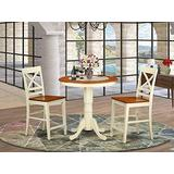 3 Pc counter height Dining set - counter height Table and 2 counter height stool.