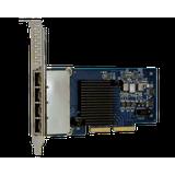 Lenovo ThinkSystem I350-T4 PCIe 1Gb 4-Port RJ45 Ethernet Adapter