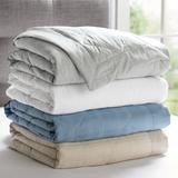 Elements Down Alternative Blanket - Linen, King - Grandin Road