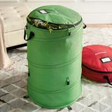 Pop Up Storage Bag - Red - Grandin Road