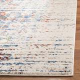 Bungalow Rose Hackman Ivory/Blue Rug Polypropylene in Blue/Brown, Size 60.0 H x 0.45 D in | Wayfair 8C05204488A1418ABEF6A3ABFB32D7FD