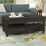 Alcott Hill® Massimo Premium Material Lift Top 4 Legs Coffee Table w/ Storage Wood in Black, Size 21.0 H x 50.0 W x 28.0 D in   Wayfair