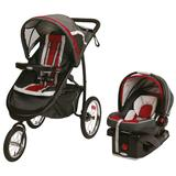 Graco FastAction Fold Jogger Click Connect Travel System Stroller, Multicolor