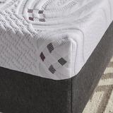 ComforPedic Loft from Beautyrest 10-inch Firm Choose Your Comfort Gel Memory Foam Mattress, Size: King, White