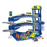 Dickie Toys Police Station Playset, Blue