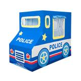 Asweets Police Car Indoor Canvas Play Tent, Multicolor