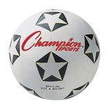 Youth Champion Sports Star Rubber Cover Soccer Ball, Multicolor, 4
