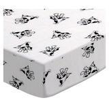 Harriet Bee Roselli 3 Piece Crib Bedding Set Cotton in Black/White, Size 28.0 W in   Wayfair 71AA98F8685943E3A40B600BA701D4D9