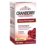 Cranberry Plus Probiotic, 60 Tablets, 21st Century HealthCare