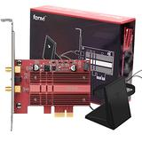 Fenvi WiFi Card Dual Band Wireless AC 9260 Gigabit PC PCIe 2030Mbps BT5.0 802.11ac 2.4Ghz 5Ghz MU-MIMO PCI Desktop WLAN PC BT 5.0 Network Adapter for Windows 10 WI-FI Miracast Nic Advanced Heat Sink