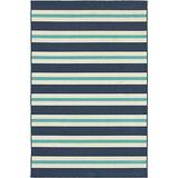 Oriental Weavers Meridian Area Rug 2' x 3' Blue/Ivory
